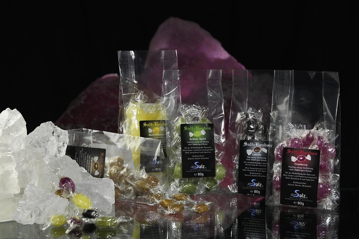 Bonbons und Schokolade - Salzprodukte für Genießer von KönigsSalz
