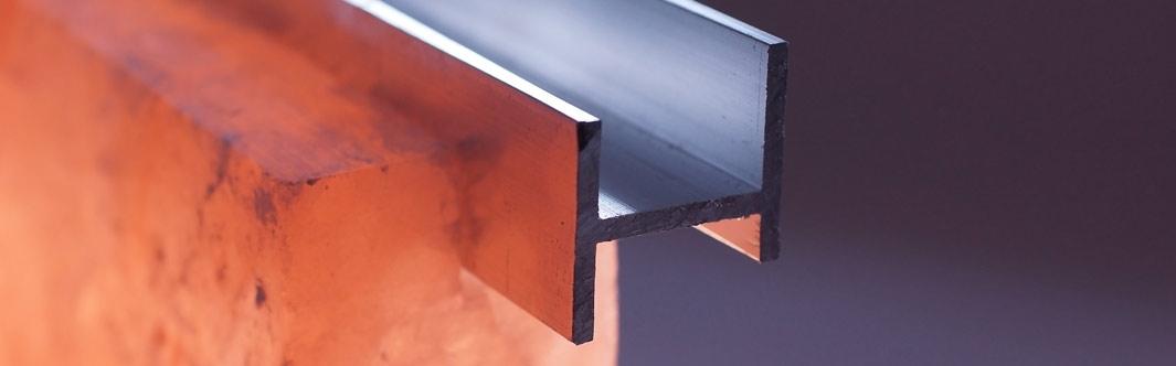 Das KönigsSalz QRS-Schienensystem eignet sich hervorragend zur einfachen Installation von individuellen Raumgestaltungen mit Salz