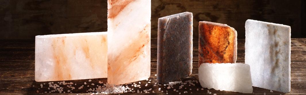 Salz als Baustoff - Salzsteine und Salzfliesen für eine außergewöhnliche Atmosphäre