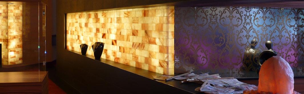 Individuelle Raumgestaltung mit dem Baustoff Salz für die perfekte Wohlfühlatmosphäre - in Bädern, Hotels und Privaträumen
