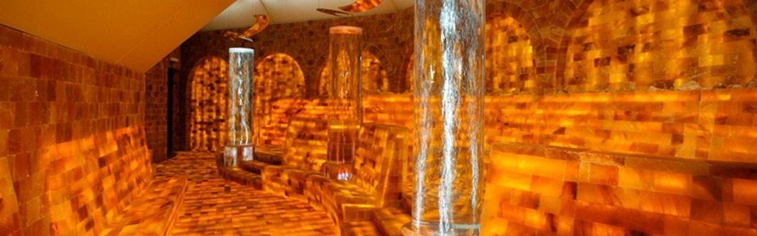 KönigsSalz SALARIUM, Salz-Grotte, Salz-Raum, Salz-Sauna - Bauen mit dem Rohstoff Salz