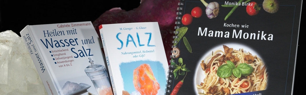 Bücher rund ums Thema Salz: Wissen, Rezepte und Informationen