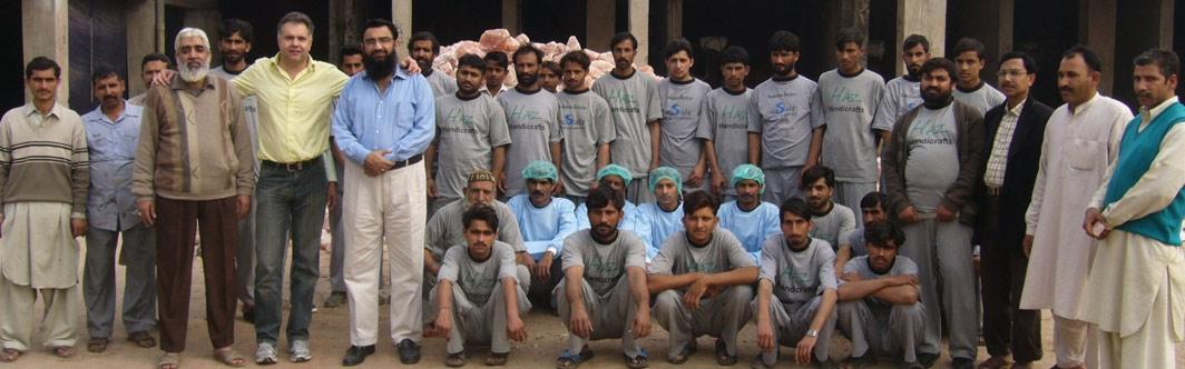 Die Salz-Produktion in Pakistan - Qualität in Handarbeit