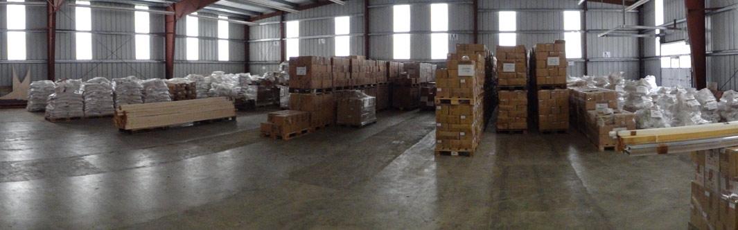 Das große Salzlager ermöglicht die KönigsSalz Liefergarantie für Großhändler und Händler